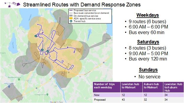 citylink - Streamlined Routes with Demand Response Zones
